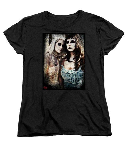 Monique And Ryli 1 Women's T-Shirt (Standard Cut) by Mark Baranowski