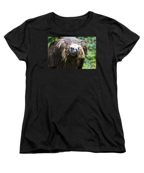 Monk Vulture 3 Women's T-Shirt (Standard Cut) by Heiko Koehrer-Wagner