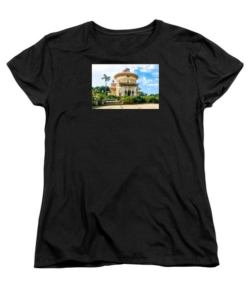 Women's T-Shirt (Standard Cut) featuring the photograph Monserrate Palace by Marion McCristall