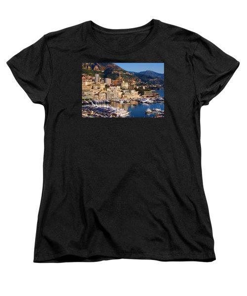 Monte Carlo Women's T-Shirt (Standard Cut) by Tom Prendergast