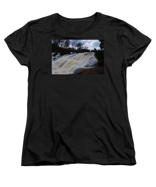 Moody Flow Women's T-Shirt (Standard Cut) by Warren Thompson