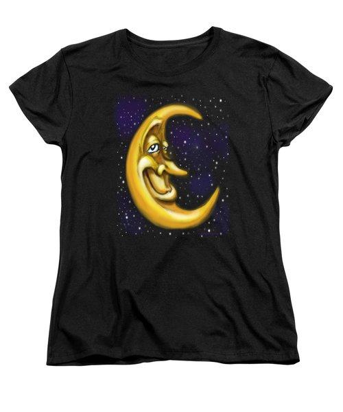 Moon Women's T-Shirt (Standard Cut) by Kevin Middleton