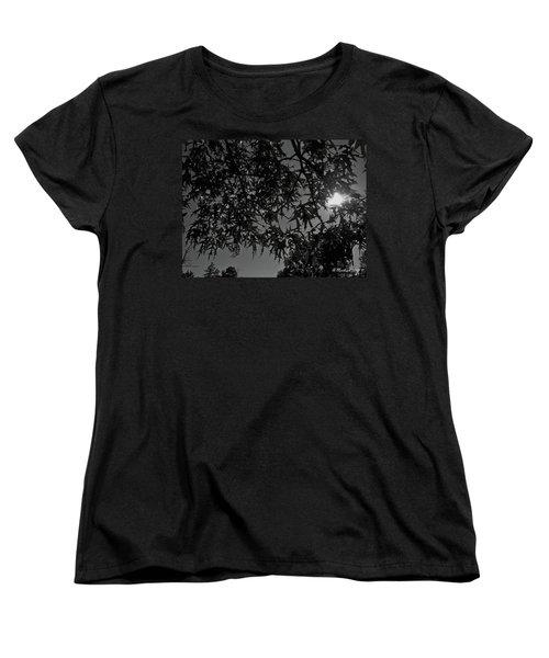 Women's T-Shirt (Standard Cut) featuring the photograph Moonlight by Betty Northcutt