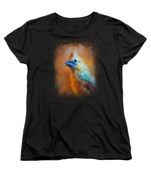 Morning Cheer Women's T-Shirt (Standard Cut) by Jai Johnson