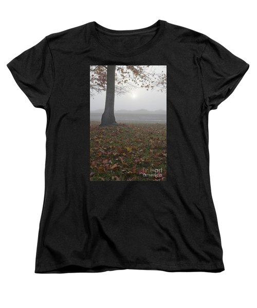 Morning Fog Women's T-Shirt (Standard Cut) by Jim and Emily Bush