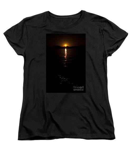 Women's T-Shirt (Standard Cut) featuring the photograph Morning Has Broken by Tamyra Ayles