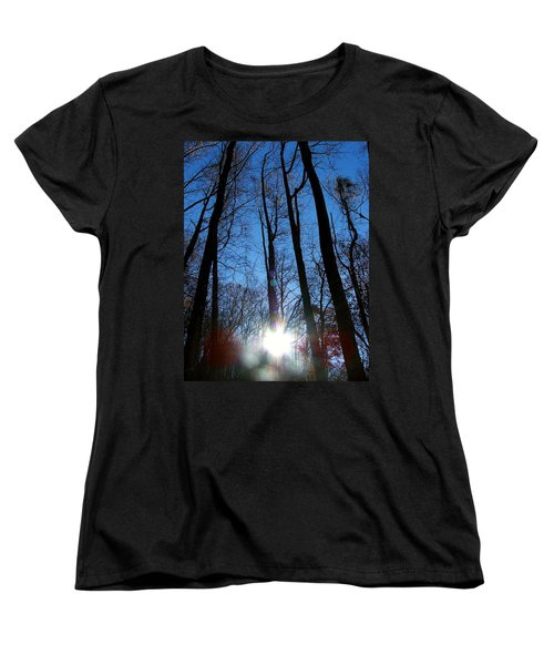 Morning In The Mountains Women's T-Shirt (Standard Cut) by Robert Meanor