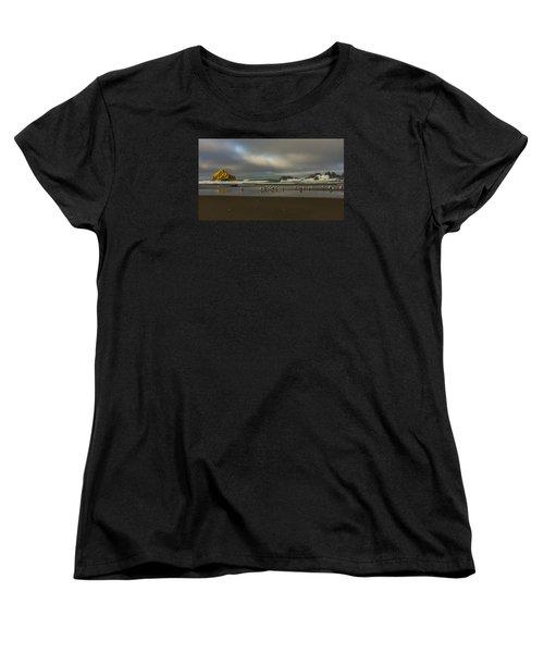 Morning Light On The Beach Women's T-Shirt (Standard Cut)