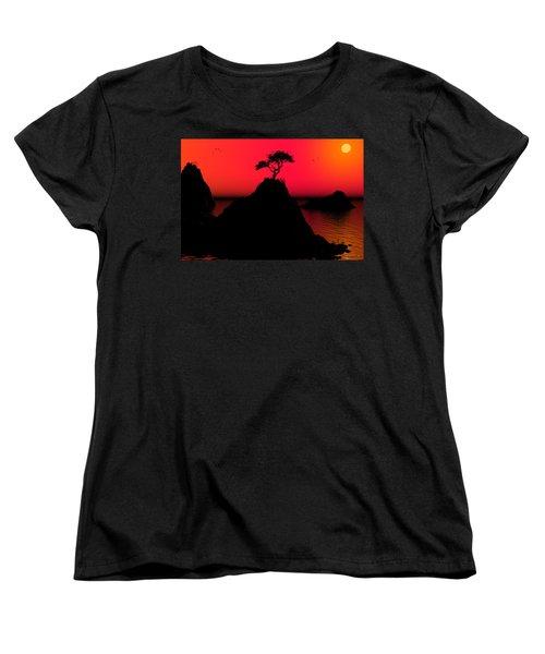 Morning Light Women's T-Shirt (Standard Cut) by Robert Orinski
