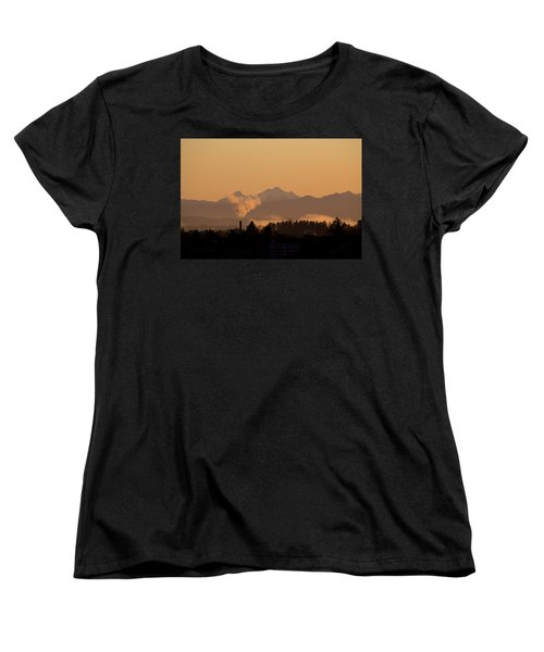 Morning View Women's T-Shirt (Standard Cut) by Evgeny Vasenev