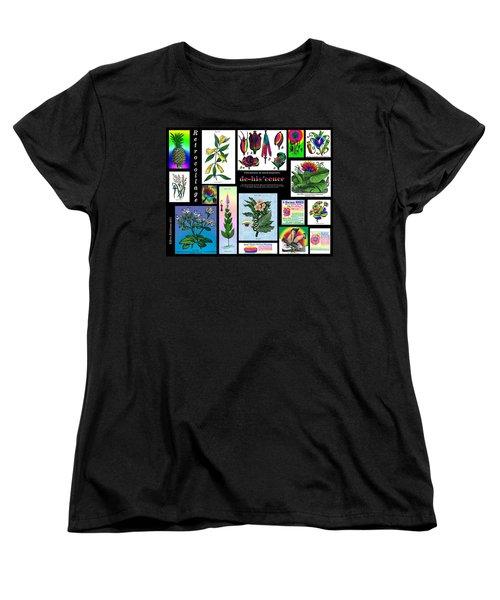 Mosaic Of Retrocollage II Women's T-Shirt (Standard Cut)