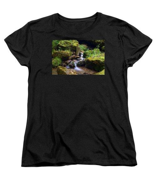 Mossy Glenn Spring 2 Women's T-Shirt (Standard Cut) by Bonfire Photography