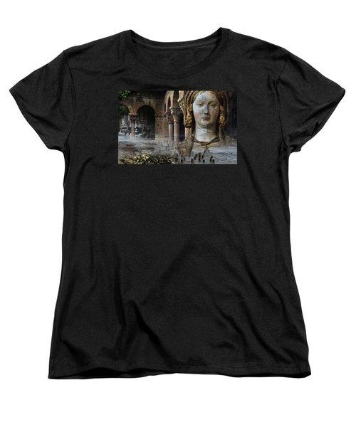 Mother Earth Women's T-Shirt (Standard Cut) by Yvonne Wright