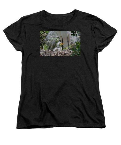 Mother Love Women's T-Shirt (Standard Cut) by Kenneth Albin