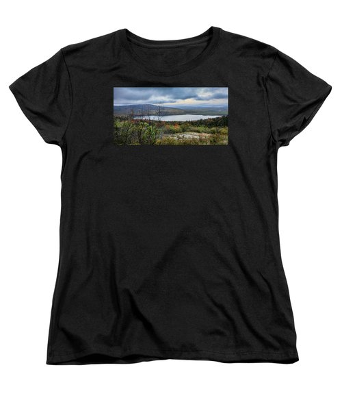 Mountain View Women's T-Shirt (Standard Cut) by Jane Luxton