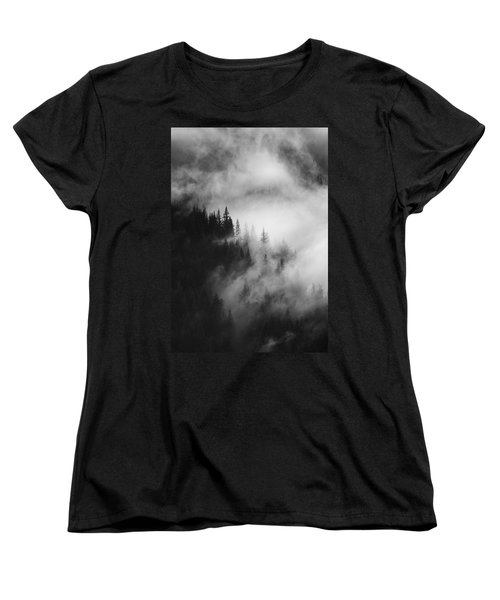 Mountain Whispers Women's T-Shirt (Standard Cut) by Mike  Dawson