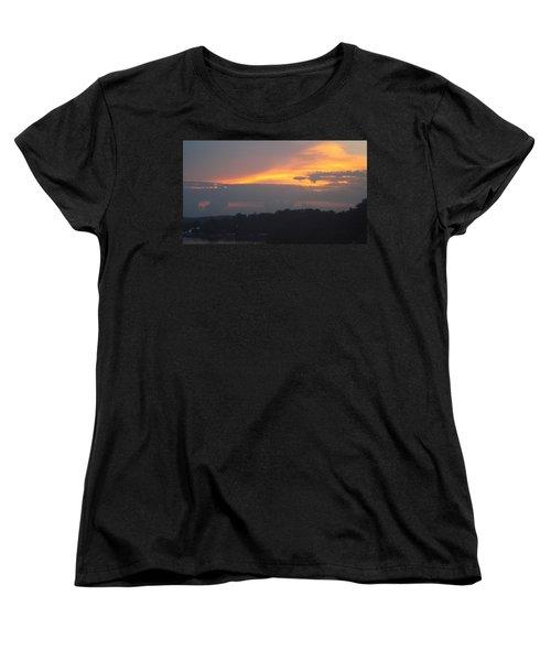 Mountains Of Gold  Women's T-Shirt (Standard Cut) by Don Koester