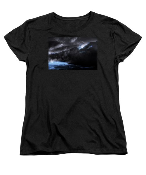 Women's T-Shirt (Standard Cut) featuring the photograph Mountains Of The Blue Ridge by Gray  Artus
