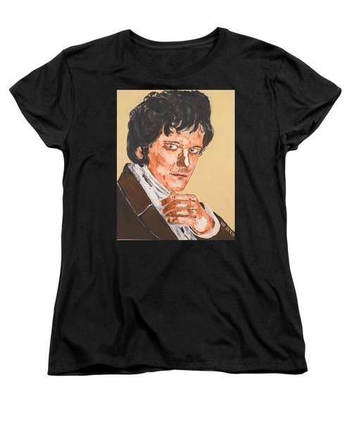 Mr. Darcy Women's T-Shirt (Standard Cut) by Valerie Ornstein