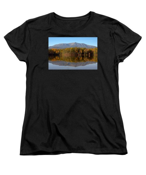 Mt Katahdin Baxter State Park Fall 1 Women's T-Shirt (Standard Cut) by Glenn Gordon