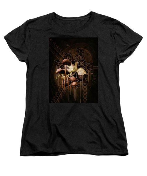 Mushroom Dragon Women's T-Shirt (Standard Cut)
