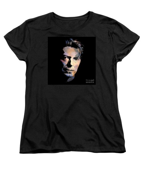 Music Legend. Women's T-Shirt (Standard Cut) by Andrzej Szczerski