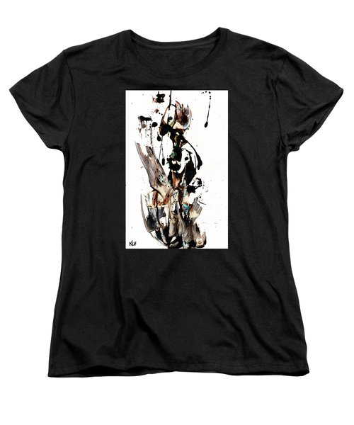 My Form Of Jazz Series 10062.102909 Women's T-Shirt (Standard Cut) by Kris Haas