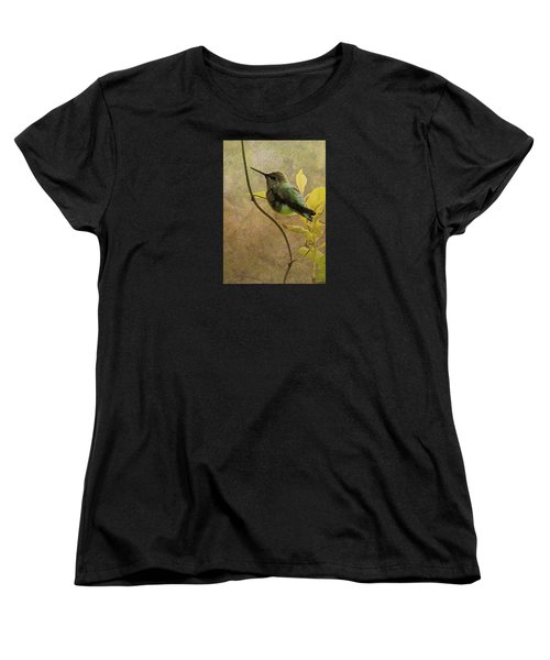 My Greeting For This Day Women's T-Shirt (Standard Cut) by I'ina Van Lawick