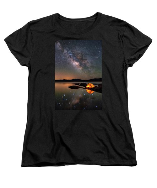 My Million Star Hotel Women's T-Shirt (Standard Cut) by Darren White
