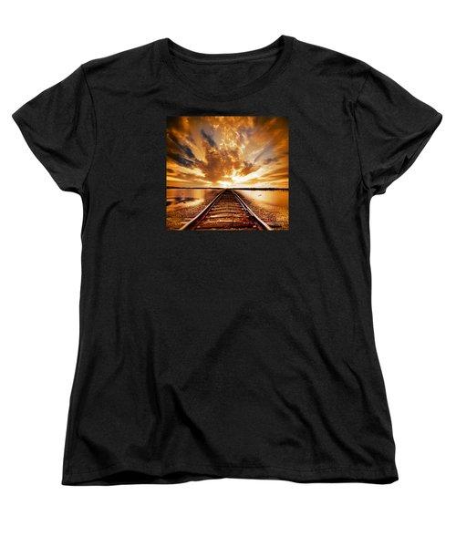 My Way Women's T-Shirt (Standard Cut) by Jacky Gerritsen