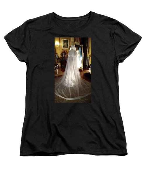 Women's T-Shirt (Standard Cut) featuring the photograph My Wedding Gown by Gary Smith