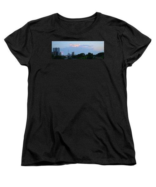 Myrtle Beach Sunset Women's T-Shirt (Standard Cut) by Gordon Mooneyhan