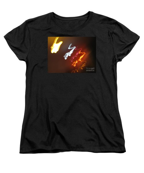 Women's T-Shirt (Standard Cut) featuring the photograph Mysterious Signature by Ausra Huntington nee Paulauskaite