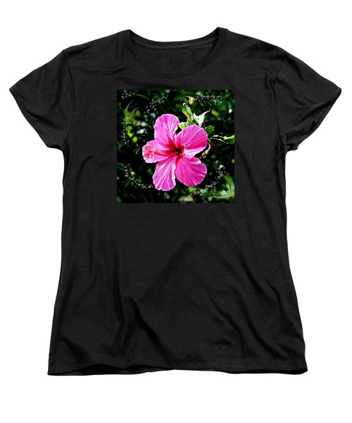 Women's T-Shirt (Standard Cut) featuring the photograph Mystical Bloom by The Art of Alice Terrill
