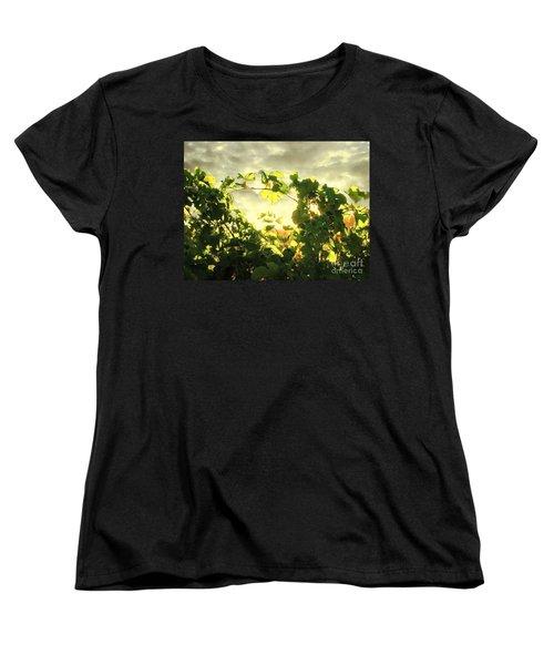 Napa Dusk Women's T-Shirt (Standard Cut) by Ellen Cotton