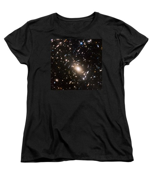 Women's T-Shirt (Standard Cut) featuring the photograph Nasa's Hubble Looks To The Final Frontier by Nasa