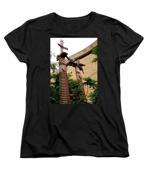 National Museum Of The American Indian 3 Women's T-Shirt (Standard Cut) by Randall Weidner