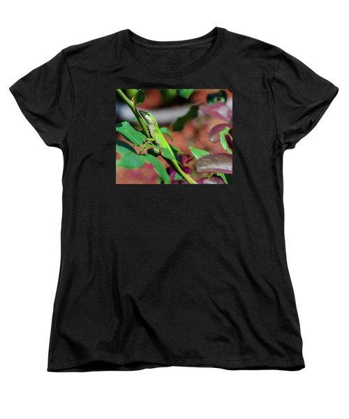 Native Anole Women's T-Shirt (Standard Cut)