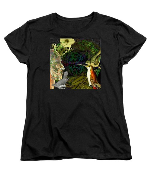 Natural Man Women's T-Shirt (Standard Cut) by Joseph Mosley
