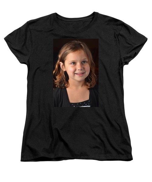 Naturally Kayleigh Women's T-Shirt (Standard Cut) by Carle Aldrete