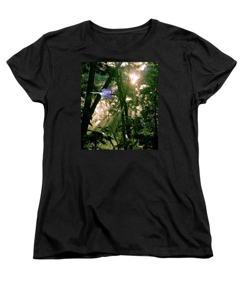 Women's T-Shirt (Standard Cut) featuring the photograph Nature's Cathedral by Marie Hicks
