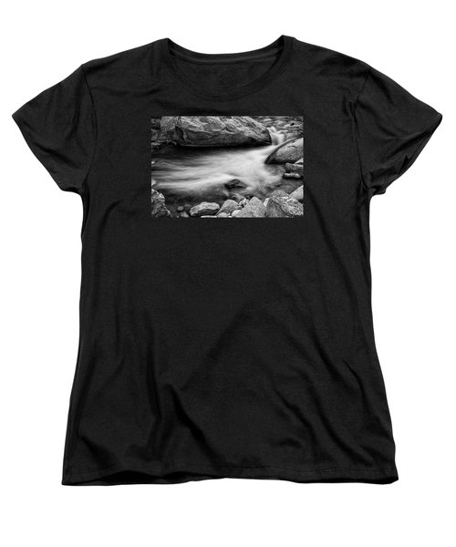 Women's T-Shirt (Standard Cut) featuring the photograph Nature's Pool by James BO Insogna