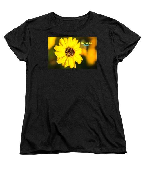 Nature's Smile  Women's T-Shirt (Standard Cut) by Joseph S Giacalone