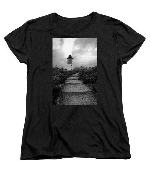 Women's T-Shirt (Standard Cut) featuring the photograph Nauset Light by Michael Friedman