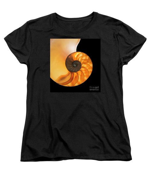 Women's T-Shirt (Standard Cut) featuring the photograph Nautalis by Brian Jones