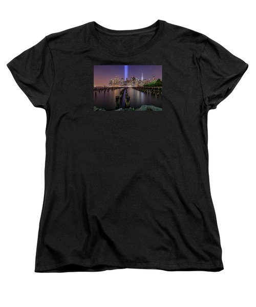Women's T-Shirt (Standard Cut) featuring the photograph Never 4 Get  by Anthony Fields