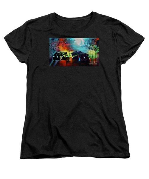 Never Alone  Women's T-Shirt (Standard Cut)