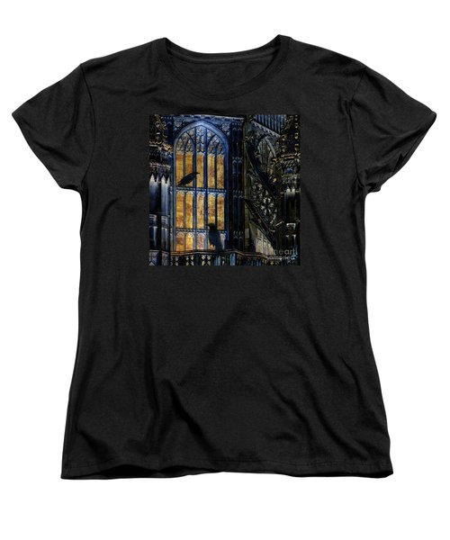 Women's T-Shirt (Standard Cut) featuring the photograph Nevermore by LemonArt Photography