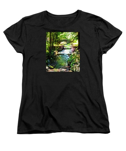 Women's T-Shirt (Standard Cut) featuring the photograph New England Serenity by Kathy Kelly