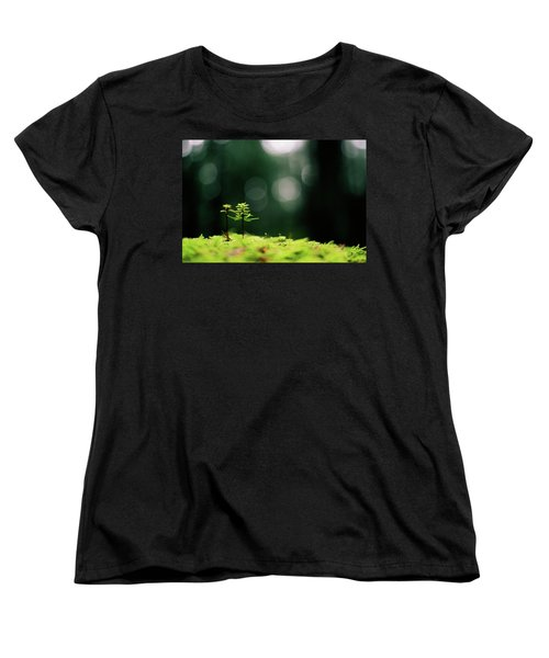 New Forest Women's T-Shirt (Standard Cut) by Cathie Douglas